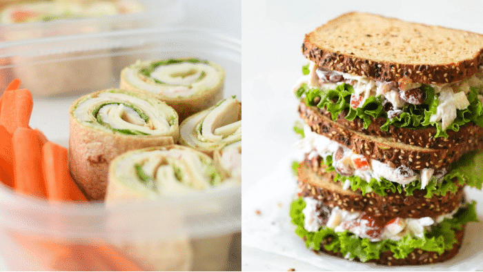Class wraps, sandwiches, & salads get a makeover with these cold lunch recipes