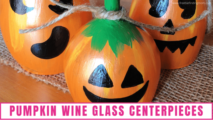 Pumpkin wine glasses are a great autumn addition to any home; use them as centerpieces, candle holders, mantel decor, & more