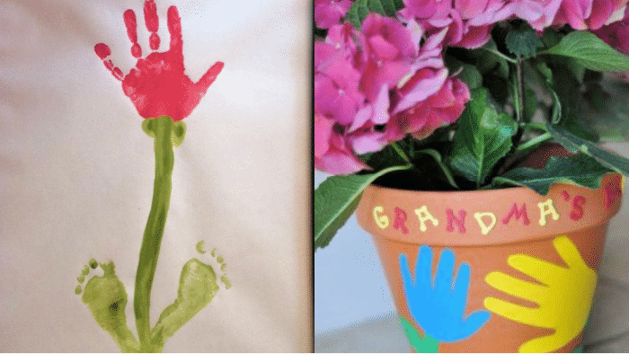 These Grandparents Day craft ideas are perfect for little toddler hands.
