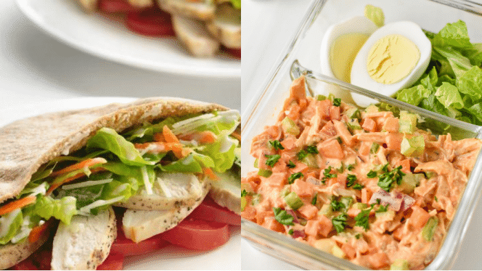Opt for one of these healthy cold lunches if you want to save time, money, & calories
