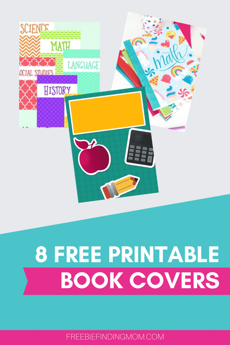 Printable Book Covers 8 Free Options Freebie Finding Mom