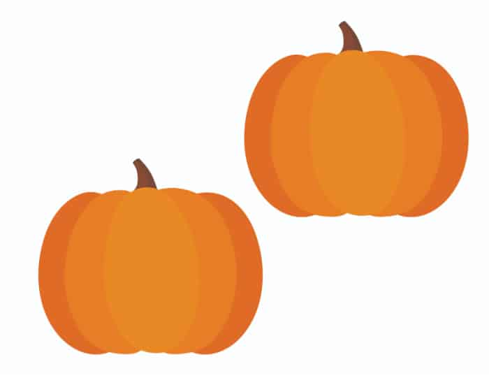 free mini pumpkin printable