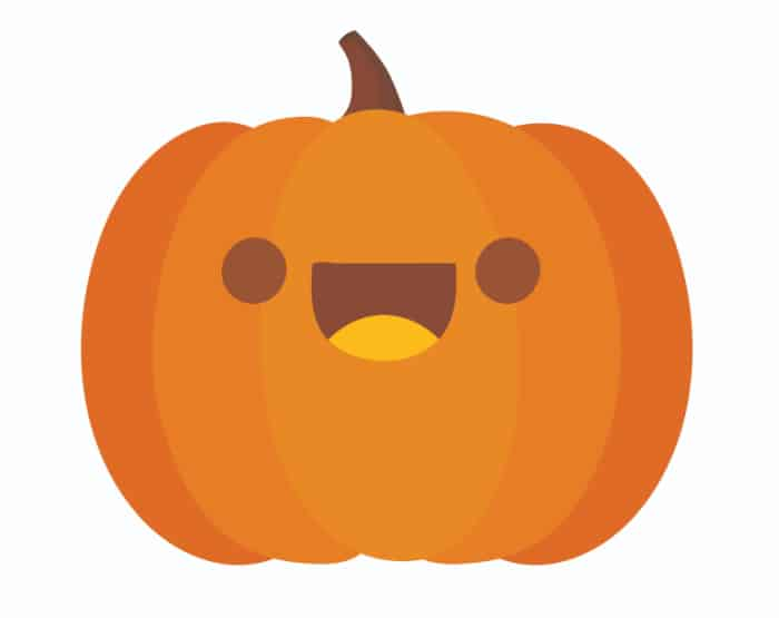 free smiley face pumpkin printable