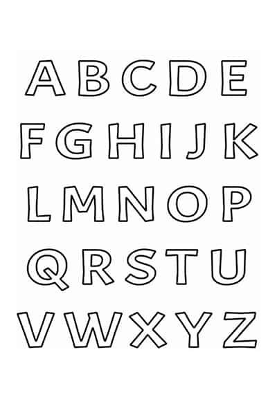 Bubble Letters Set