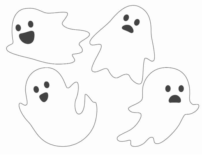 free ghost printables