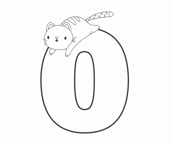 Printable Bubble Letters Cat and Dog Letter O