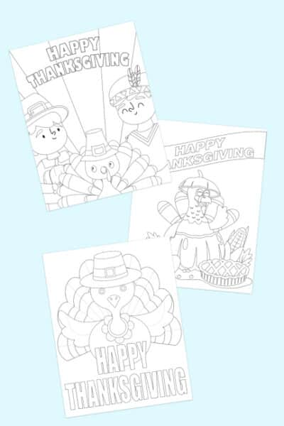 Thanksgiving coloring pages free downloads