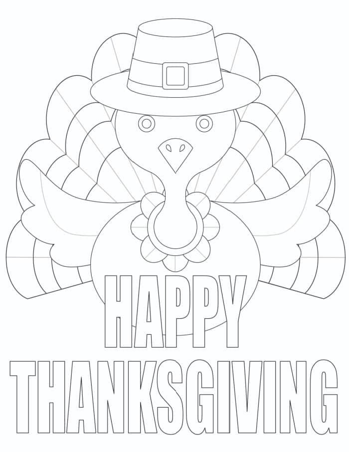 3 Thanksgiving Coloring Pages (Free) - Freebie Finding Mom