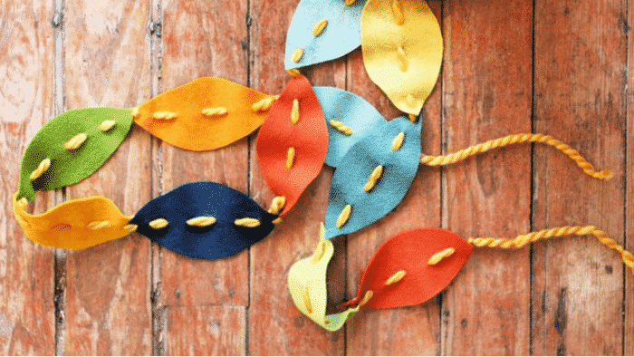 These fall craft ideas for kids would make great DIY Thanksgiving decorations
