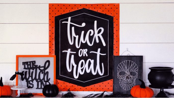 free printable Halloween decorations templates for home decor