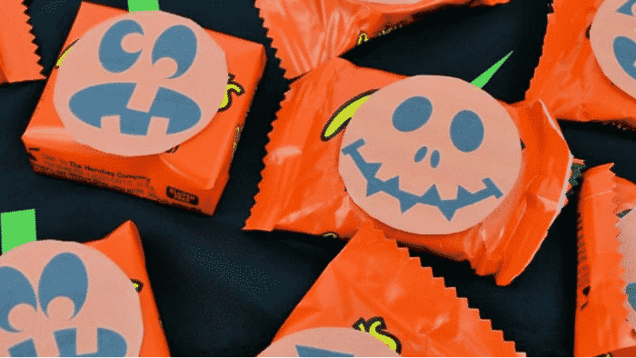 free printable Halloween templates for candy wrappers
