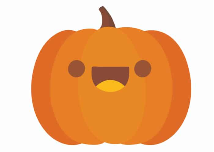let the kids cut out this free pumpkin printable to make adorable DIY Halloween decorations with