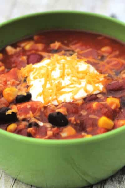 turkey chili recipe Crock Pot