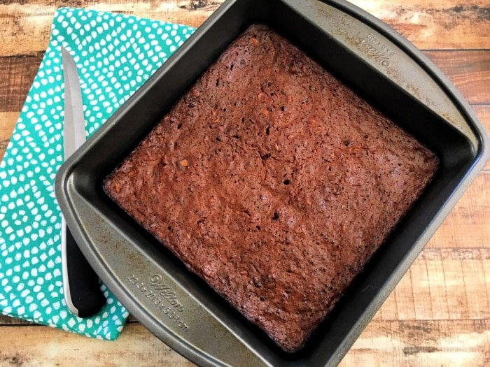 You have to let these 37 calorie brownies cool, no matter how hard it is to wait