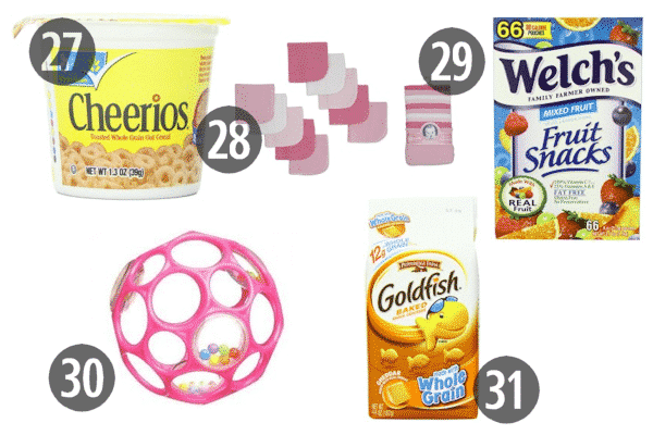 Cheap stocking stuffers for kids can include tasty snacks, like Goldfish and Cheerios, that even Mom and Dad enjoy