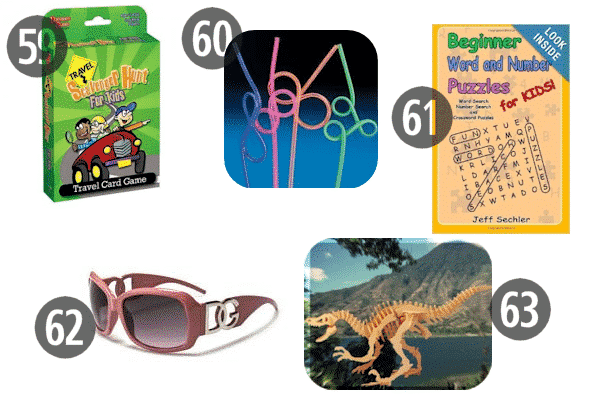 Some cheap stocking stuffers for kids, like sunglasses and puzzle books, also work for stocking stuffers for adult children