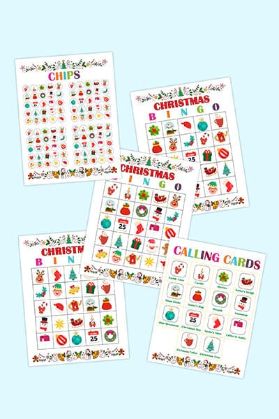Christmas Bingo game printable