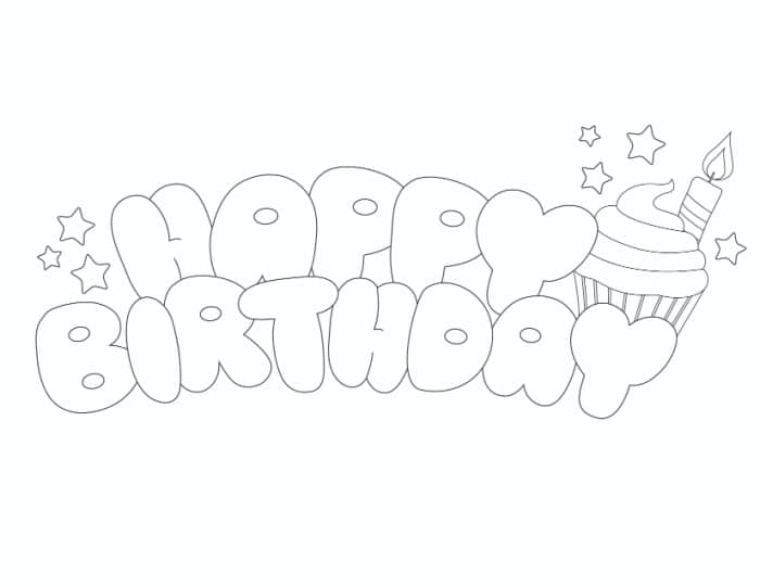 Celebrate that special day by learning how to write happy birthday in bubble letters and draw a sweet treat to top it off!