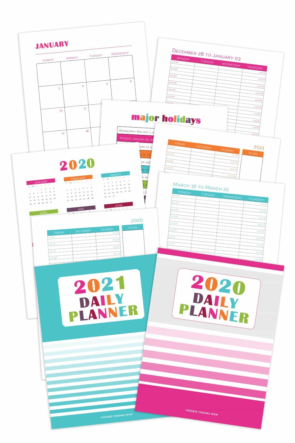 2021 Daily Planner Bundle
