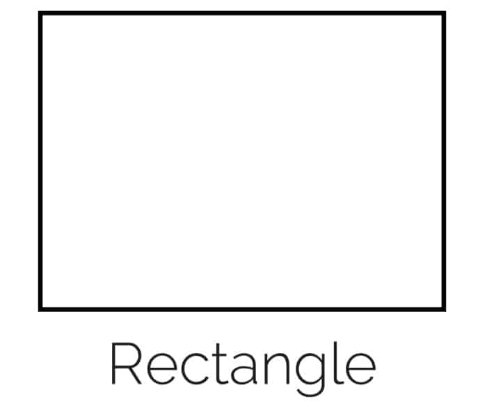 Free Printable Rectangle Shape