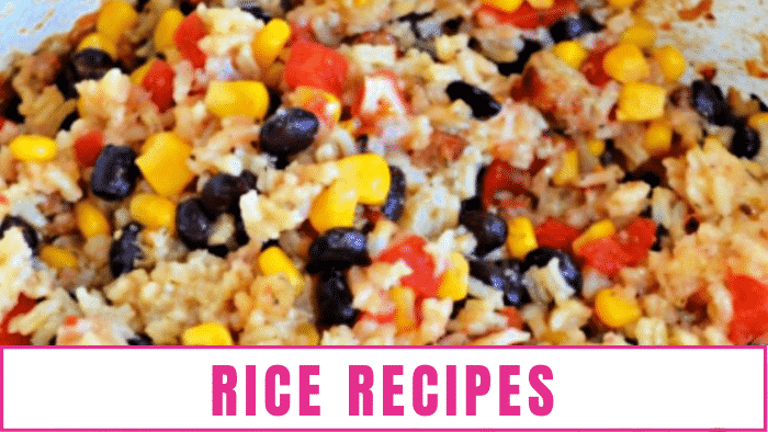 Since rice can usually be made ahead of time and it's great if you are on a budget, it's perfect when you need large family meals.