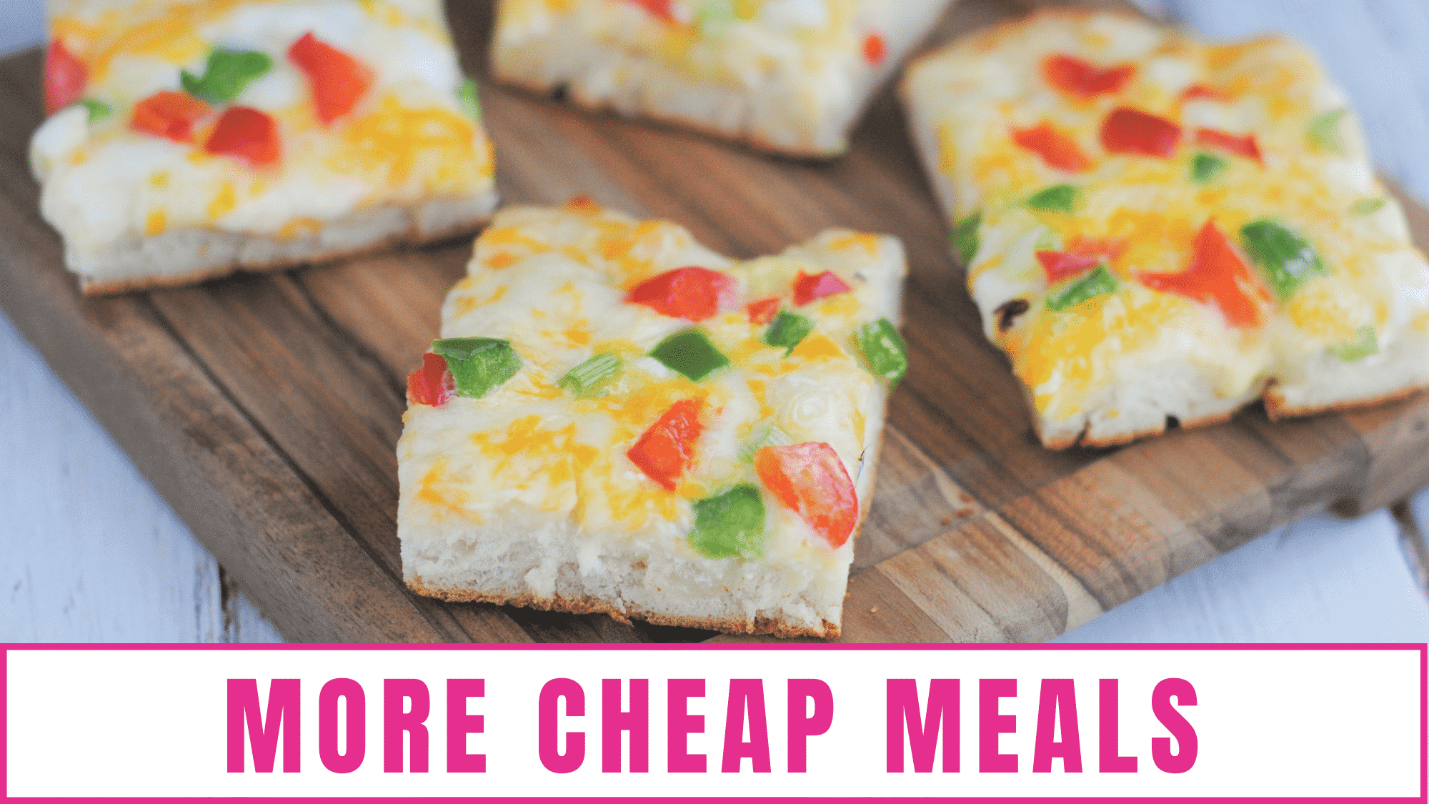 Cheap meals for large families recipes don't have to be bland and boring, as these 39 recipes prove!