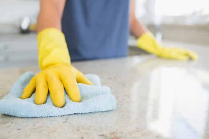 cleaning countertops record on free printable cleaning checklist