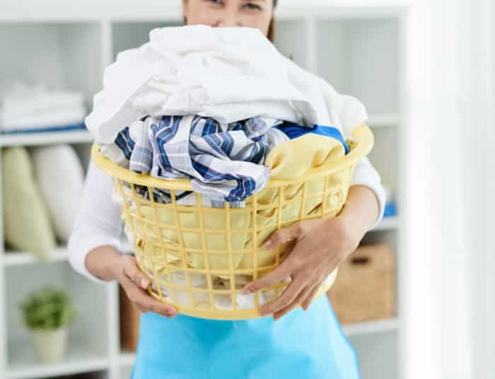 doing laundry record on free printable cleaning checklist