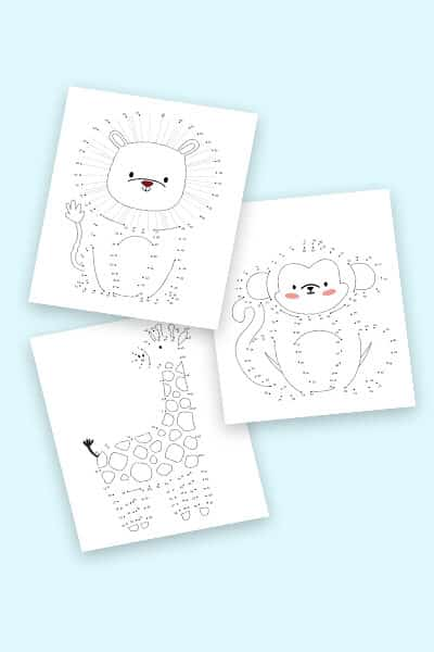 free connect the dots printables