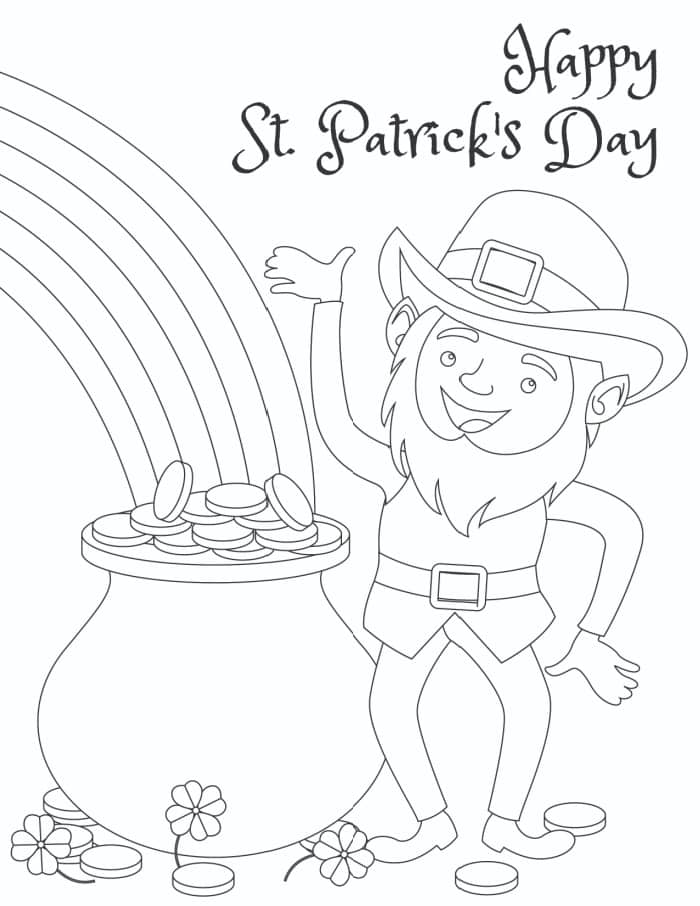 3 Free Printable Happy St Patrick S Day Coloring Pages Laptrinhx News