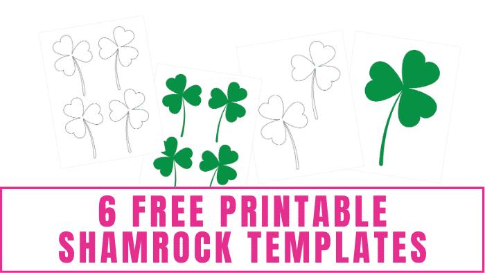 free printable shamrock templates