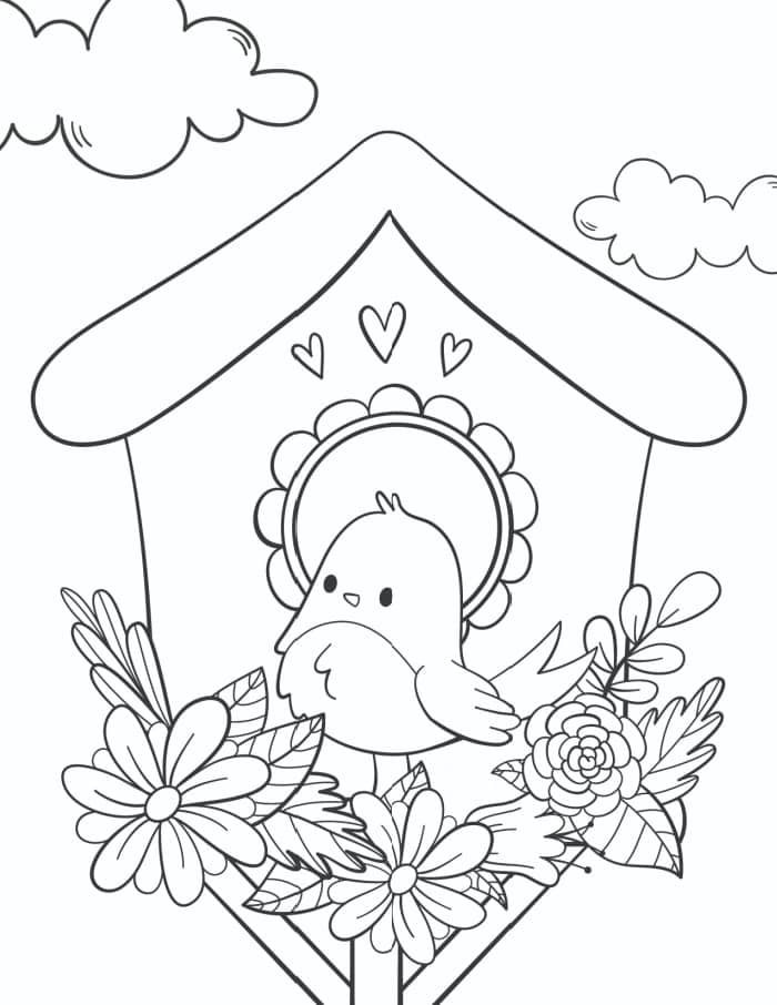 3 Free Printable Spring Flowers Coloring Pages - Freebie Finding Mom