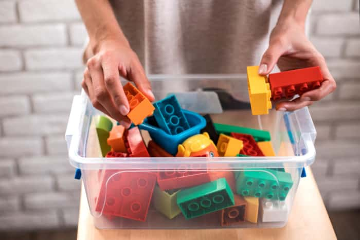 organize toys record on free printable cleaning schedule template