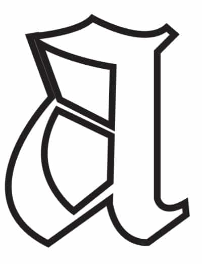 free printable gothic calligraphy lowercase letters gothic calligraphy lowercase A