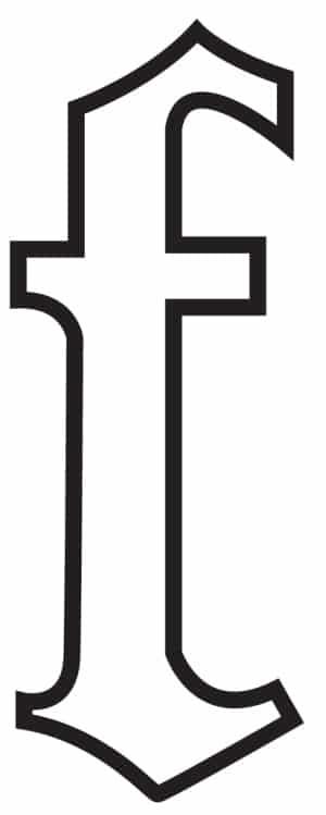free printable gothic calligraphy lowercase letters gothic calligraphy lowercase F