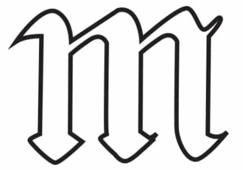 free printable gothic calligraphy lowercase letters gothic calligraphy lowercase M
