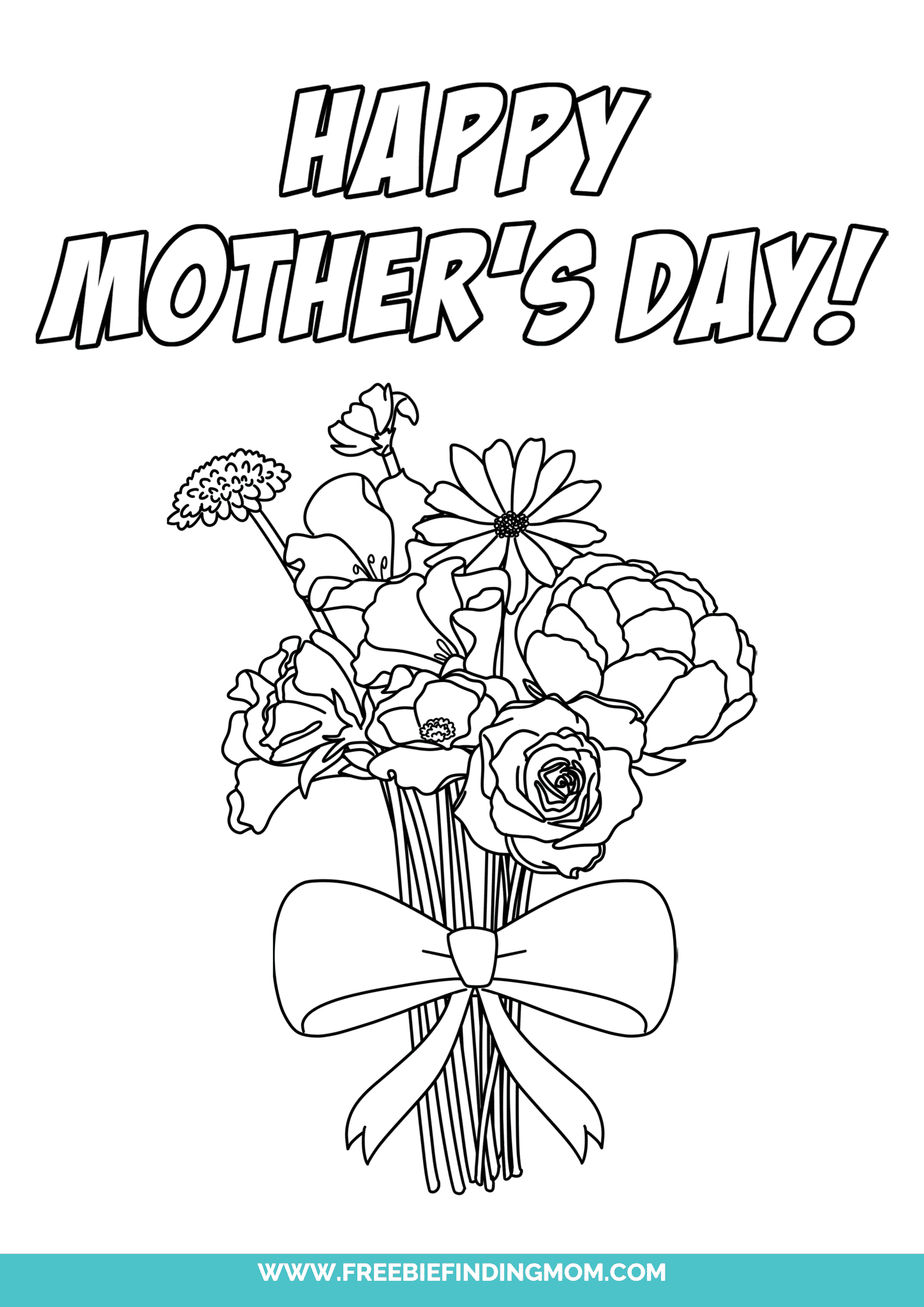 3 Happy Mother S Day Coloring Pages Free Printables Laptrinhx News