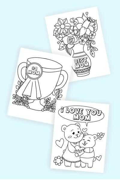 free printable Mother's Day coloring pages