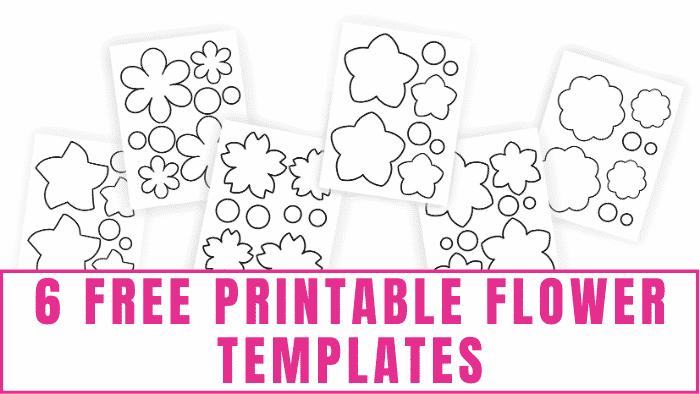 free printable flower templates