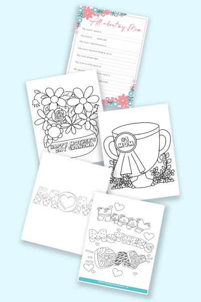 frugal and free Mother's Day printables