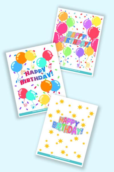 free happy birthday sign printables