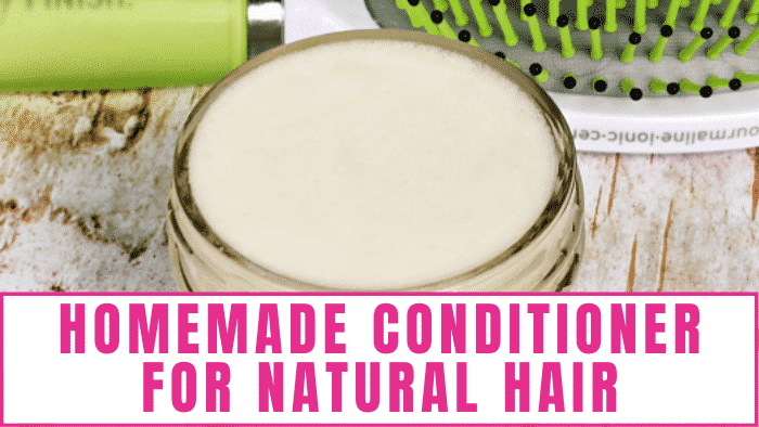 Give your hair a hearty dose of hydration without harmful chemicals with this homemade conditioner for natural hair recipe.