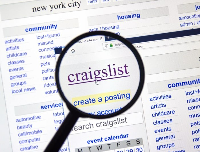 Did you know Craigslist not only has things to sell but also free things too? Do a quick search on Craigslist to find Craigslist free stuff near me now.