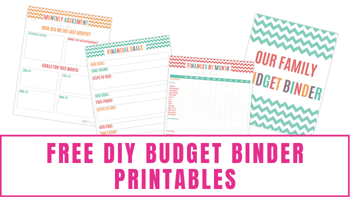 Use these free DIY budget binder printables to get organized and make progress toward your financial goals. This is a great first step when budgeting and managing your money.