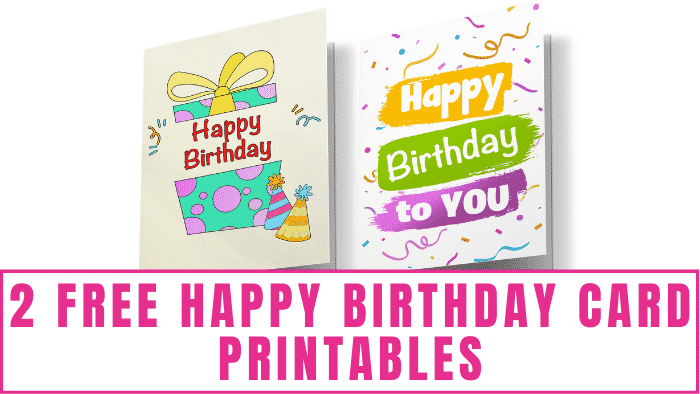 These free happy birthday card printables prove that you don't have to spend a lot of money on a card to send heartfelt birthday wishes.