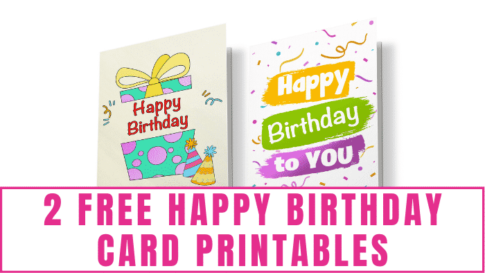 Free Happy Birthday card printables are a great way to send heartfelt birthday wishes to someone special but without blowing your budget.