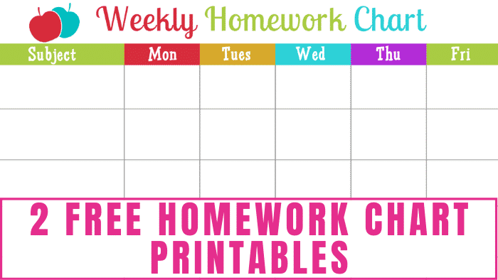 Need help tracking your kids' homework? Download free homework chart printables and use star cut out templates to mark when your kids' homework is completed.