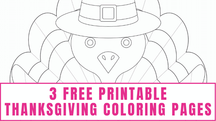 Free printable Thanksgiving coloring pages are a great way to keep the kids entertained while you finish Thanksgiving dinner.