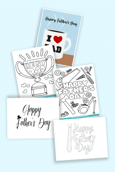 frugal and free Happy Father's Day printables and crafts