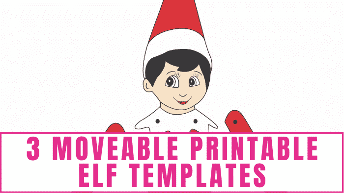 Your kids will have a blast bringing this moveable printable elf templates to life. They can also elf themselves by inserting their own picture.